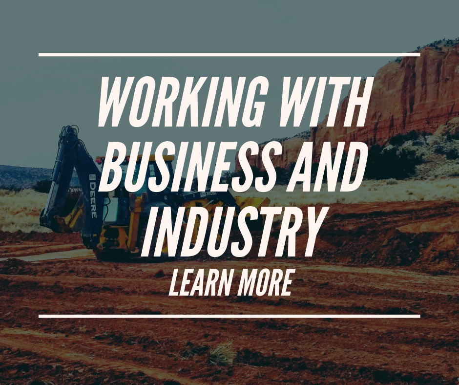working with business and industry